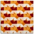 rug #551177 | square orange circles rug