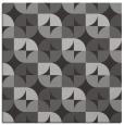 rug #551185 | square orange circles rug