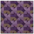 rug #551217 | square purple retro rug