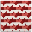 rug #551233 | square red rug