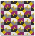 rug #551285 | square yellow rug
