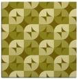 rug #551305   square light-green circles rug