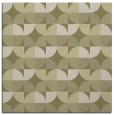 rug #551309 | square light-green circles rug