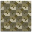rug #551317 | square light-green circles rug