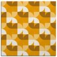 rug #551321 | square light-orange circles rug
