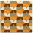 rug #551329   square light-orange retro rug