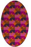 rug #551604 | oval circles rug