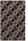 rug #551697 |  black circles rug