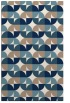 rug #551713 |  white circles rug