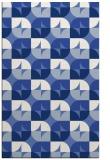 rug #551729 |  blue circles rug