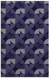 rug #551773 |  blue-violet circles rug