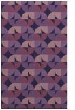 rug #551785 |  purple circles rug