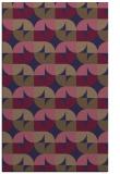 rug #551797 |  beige circles rug