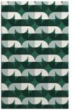 rug #551821 |  green retro rug