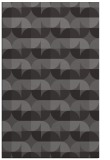 rug #551837 |  mid-brown circles rug