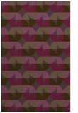rug #551913 |  purple circles rug
