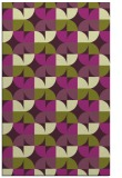 rug #551917 |  purple circles rug