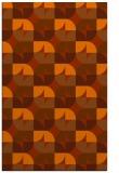 rug #551945    red-orange circles rug