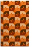 rug #551949 |  red-orange circles rug