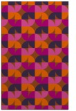 rug #551953 |  red-orange popular rug