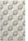 rug #551973    beige circles rug