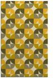 rug #551977    yellow circles rug