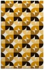 rug #551985 |  brown circles rug