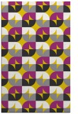 rug #551989 |  yellow circles rug