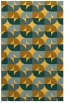 rug #551993 |  yellow circles rug