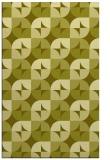 rug #552009    light-green circles rug