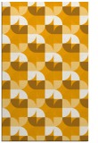 rug #552025 |  light-orange circles rug