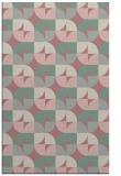 rug #552029 |  pink circles rug