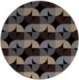 rug #552053 | round beige circles rug