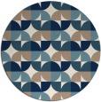 rug #552065   round white circles rug