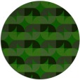rug #552109 | round green circles rug