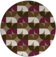 rug #552193 | round beige circles rug