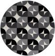 rug #552313   round black rug