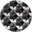 rug #552316 | round retro rug