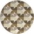 rug #552334 | round retro rug