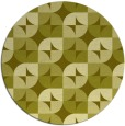 rug #552361 | round light-green circles rug