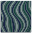 rug #552777 | square blue abstract rug