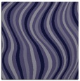 rug #552833 | square blue-violet stripes rug