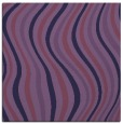 rug #552841 | square purple stripes rug