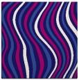 rug #552849 | square blue-violet retro rug