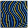 rug #552913 | square blue abstract rug