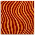 rug #552933 | square orange popular rug