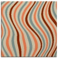 rug #552941 | square beige abstract rug