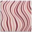 rug #552965 | square white retro rug