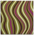 rug #552973   square purple stripes rug