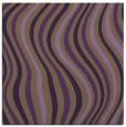 rug #552977 | square purple stripes rug